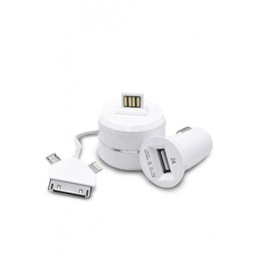 2 in 1 Car Charger