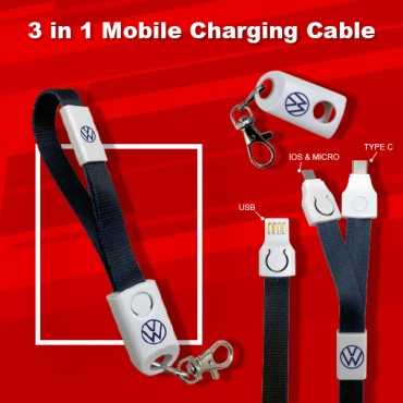 3 in 1  Mobile Cable
