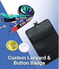 Lanyard and Button Badge