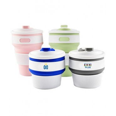 Collapsible Silicone Travel Cup - 350ml